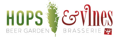 Hops and Vines Logo